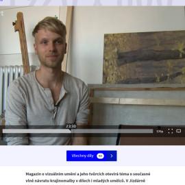 Short interview on TV