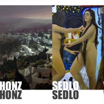Exhibition – Žák, Honz, Sedlo, Wojnar