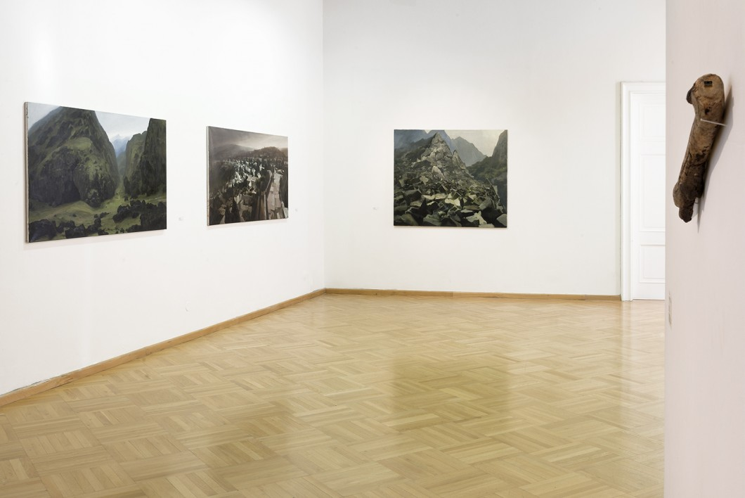 In a Landscape 2 - exhibition in Brno