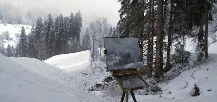 Paintings from Alps