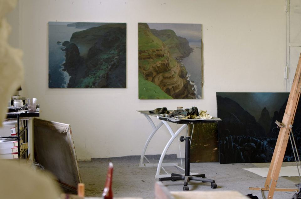 Three Paintings From My Studio